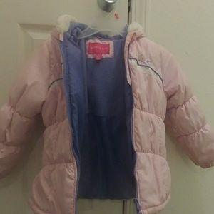 Jackets & Blazers - Little girl's Pink winter coat